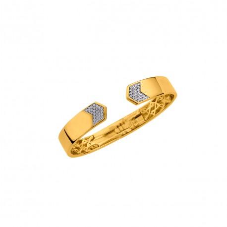 Bracelet plaque or FD Prestige