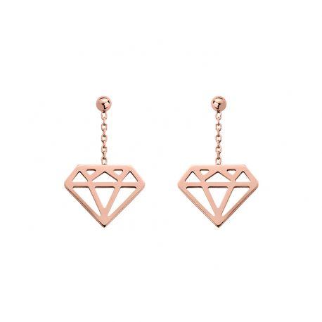 """Boucles D'oreilles """"Diamant"""""""