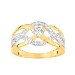 """""""Ophélie"""" Or et son diamant FD prestige"""