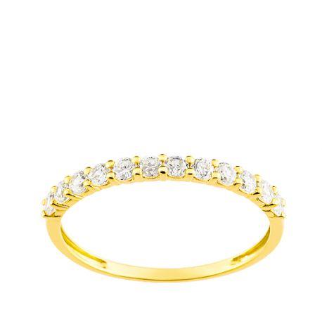 Alliance et son 1/2 tour diamants