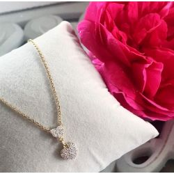 """Eternel"" Le collier Double Coeur"