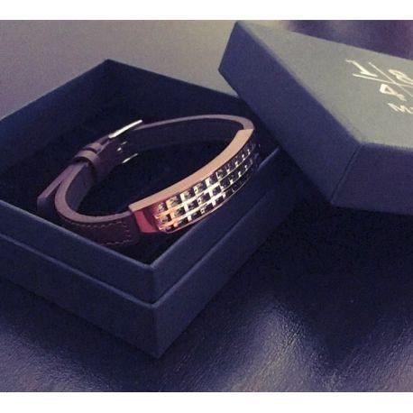 """""""Gentleman"""" Bracelet Cuir Marron"""