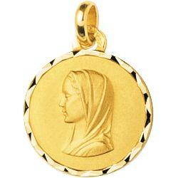 """""""La Vierge"""" Médaille plaqué or FD Prestige"""