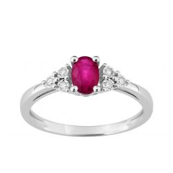 Bague Rubis Or 18 carats