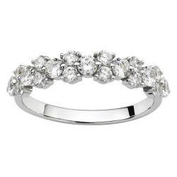Alliance  Diamants or gris 18 carats
