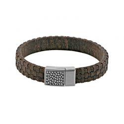 Bracelet Homme cuir marron