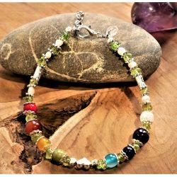 Bracelet VAHAA, pierres fines naturelle